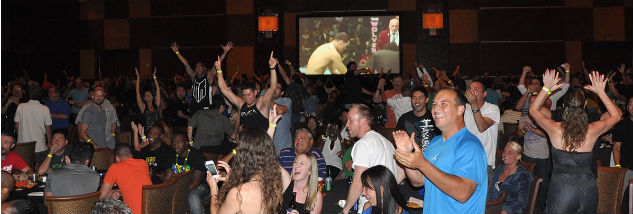 Casino Marketing with UFC Fights - Golden Nugget