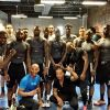 Temple hoops team works out with Bernard Hopkins at Joe Hand Boxing Gym