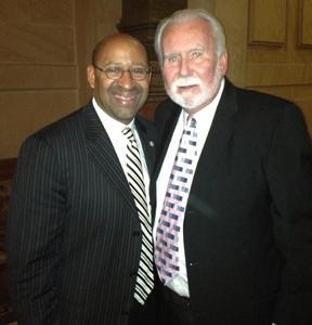 Joe Hand Sr., Mayor Nutter Salute Joe Frazier at City Hall fundraiser