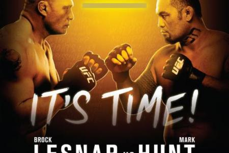 Lesnar vs. Hunt to be Main Event;  Jon Jones out of UFC 200
