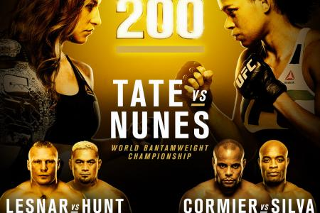 Silva vs. Cormier Added to UFC 200
