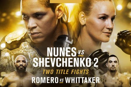 UFC 213: Two Championships, Huge Fights