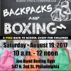 JOE HAND GYM TO DISTRIBUTE FREE BACKBACKS AND SCHOOL SUPPLIES ON SATURDAY, AUGUST 19