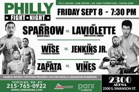 Philly Fight Night Returns Sept. 8