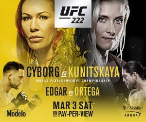 Cyborg-Kunitskaya to headline UFC 222