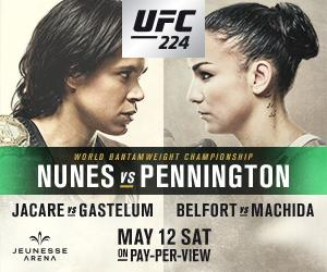 Nunes heads home for title defense at UFC 224