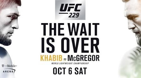 KHABIB AND MCGREGOR BATTLE IN BIGGEST FIGHT IN UFC HISTORY